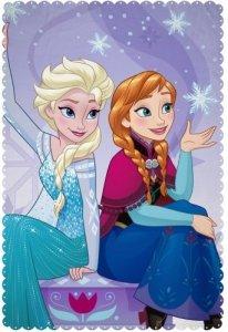 Pled Koc Kocyk polarowy Kraina Lodu 100x150cm Frozen Disney new