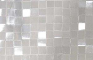 Statyczna folia okienna 3D 67,5x150cm Kwadraty