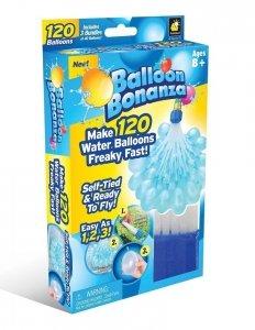 Balony bomby wodne 120szt + adapter