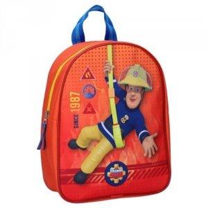 Plecak Strażak Sam plecaczek Fireman Sam Red
