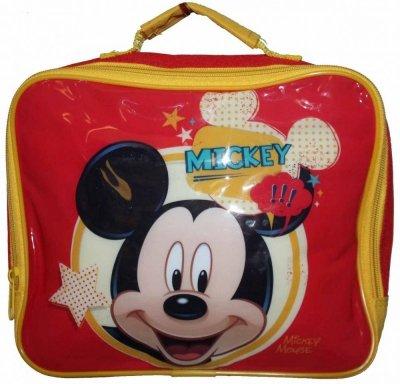 4f10f5d8c1199 MICKEY MOUSE Czerwony Lunch Box Dla Dzieci termiczna lodówka do szkoły,  przedszkola na wycieczki Disney