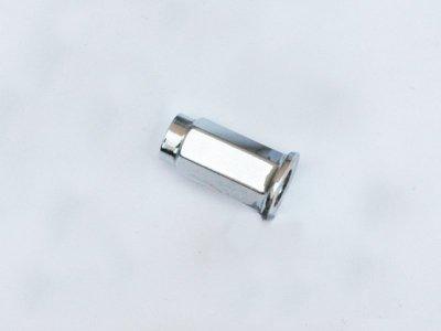 ITP 1/2-20 FLAT TAPERED CHROME LUG NUT BOX 16 CLUG20 16 sztuk