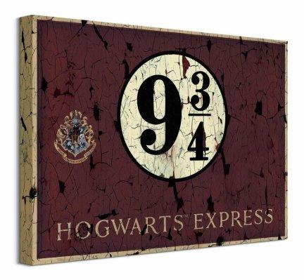 Harry Potter Hogwarts Express 9 3/4 - obraz na płótnie
