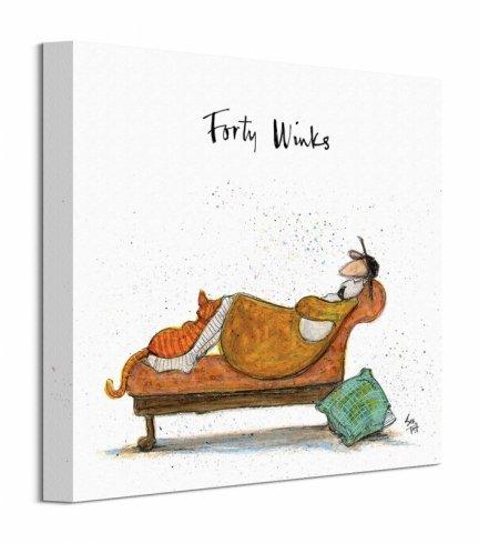 Forty Winks - obraz na płótnie