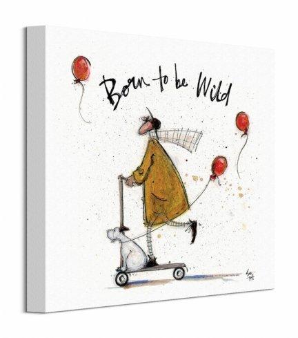Born to be Wild - obraz na płótnie
