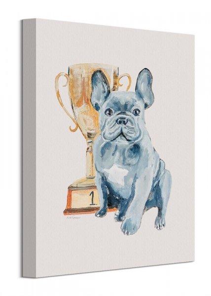 Mały Zwycięzca - obraz na płótnie