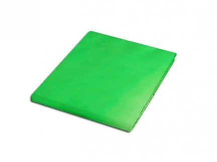 Prześcieradło satyna bawełniana 200x220 cm kolor zieleń