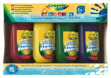 Farby do malowania palcami MiniKids