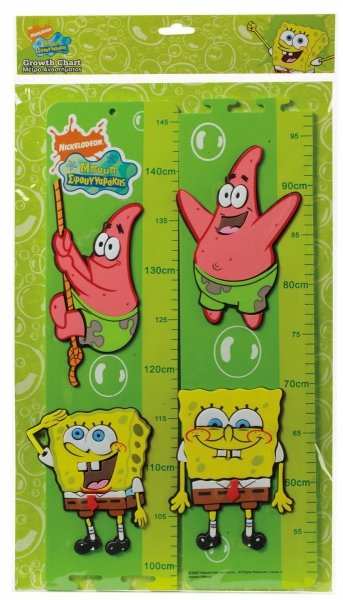 Piankowa miarka wzrostu Spongebob