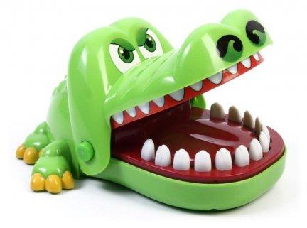 Edukacyjna gra zręcznościowa krokodyl KAJMAN - Chory Ząbek