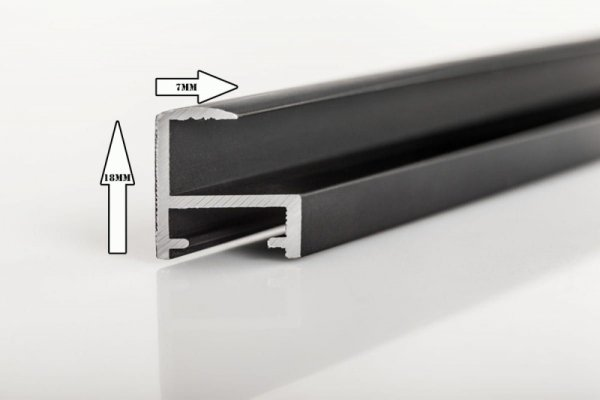Rama 30x40 cm srebrna aluminium