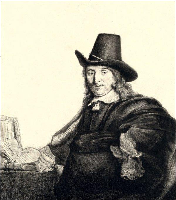 Jan Asselyn, Rembrandt - plakat