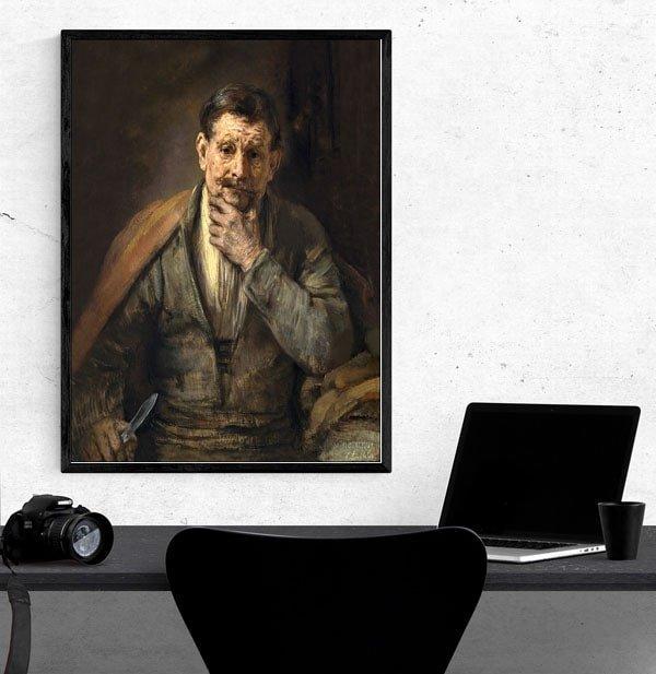 Saint Bartholomew, Rembrandt - plakat