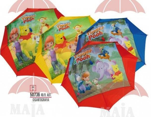 Parasolka Disney Kubuś Puchatek automat