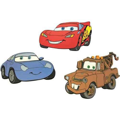 Dekoracja piankowa CARS
