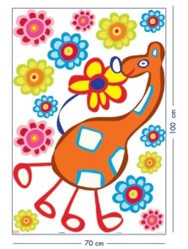 Naklejka Raffi wesoła żyrafa