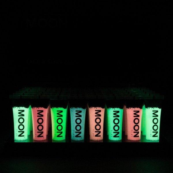 Farba do ciała i twarzy 12ml Glow in the Dark