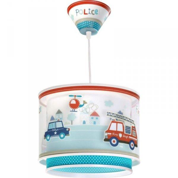 Lampa sufitowa okrągła Auta Policja Straż Pożarna Dalber 60612