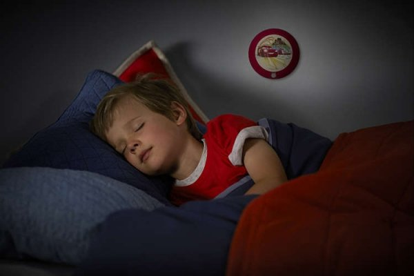 Lampka nocna z czujnikiem ruchu Cars Auta Phillips LED