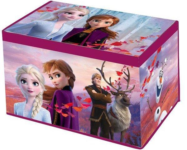 Pufa Pudełko Pojemnik Frozen Kraina Lodu 55×37×33cm