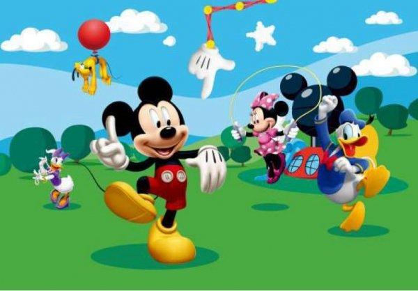 Fototapeta Disney Mickey Myszka Miki 360x254cm