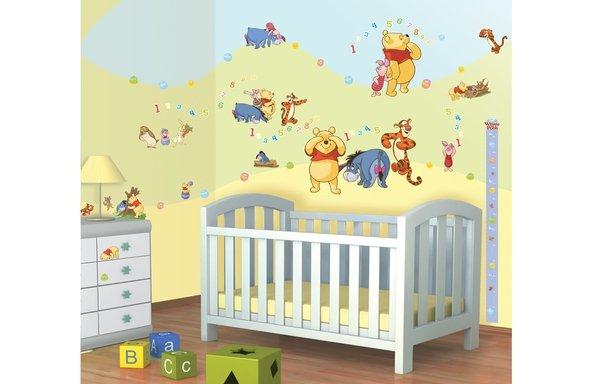 Zestaw naklejek-naklejki Disney Winnie the Pooh Kubuś Puchatek