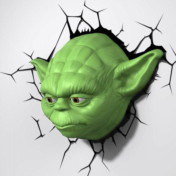Lampka nocna Mistrz YODA Star Wars 3D Deco Light Gwiezdne Wojny