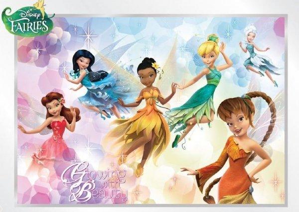 Fototapeta flizelinowa Wróżki Dzwoneczek Disney Fairies L