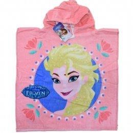 Ponczo Ręcznik z kapturem Kraina Lodu Disney Frozen