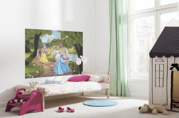 Fototapeta Disney Princess Księżniczki z koniami