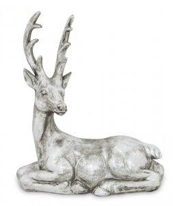 Elegancka stylowa figurka renifer
