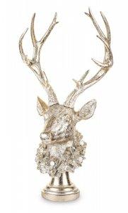 Piękna figurka popiersie jelenia podświetlane LED