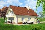 Projekt domu na wąską działkę Domowa Przystań