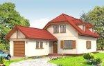 Projekt domu Pierwszy dom II pow.netto 127,99 m2