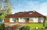 Projekt domu Trzypokoleniowy pow.netto 256,9 m2