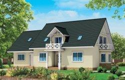 Projekt domu BS-12 z senioratką pow. 187,7 m2