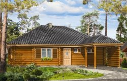 Projekt domu Zagajnik pow.netto 92,35 m2