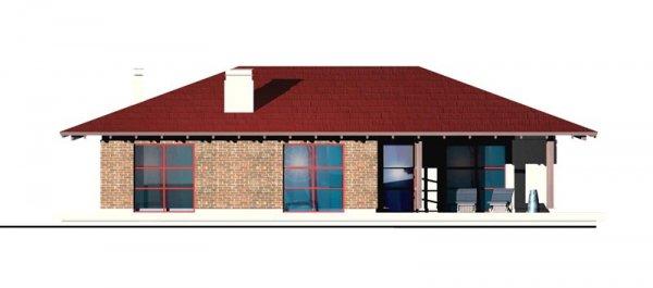 Projekt domu parterowego DM01