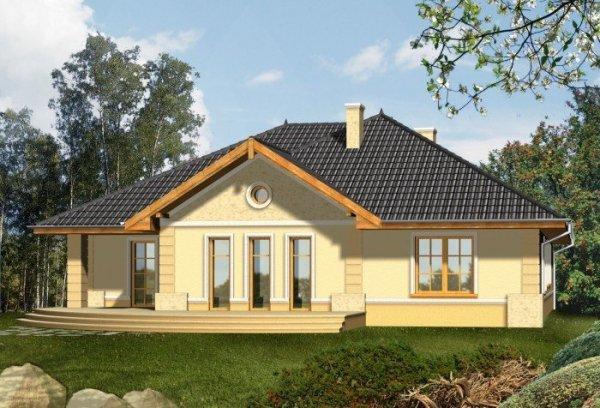 Projekt domu PORTO