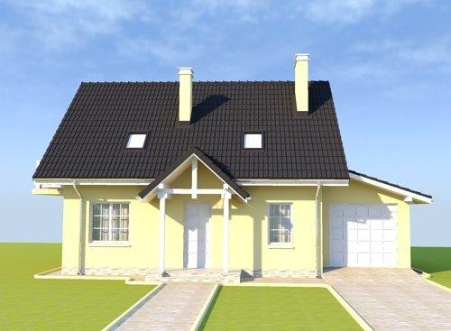 Projekt domu Słoneczny Dom