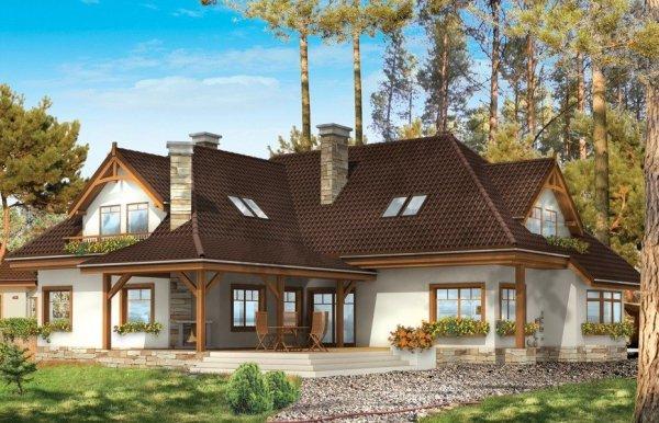 Projekt domu Jesion pow.netto 310,58 m2