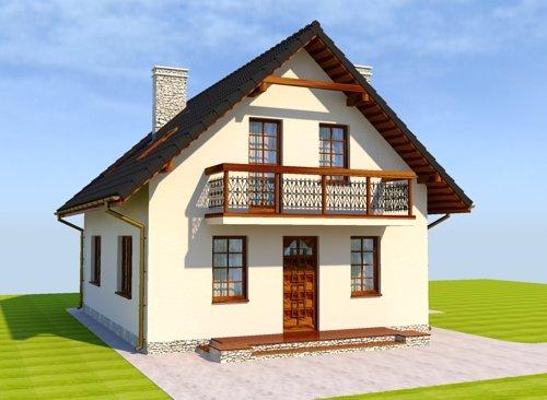 Projekt domu Anielski Zaułek