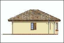 Projekt domu Kujawiak pow.netto 115,19 m2