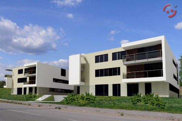 Projekt budynku wielorodzinnego PS-W-B2