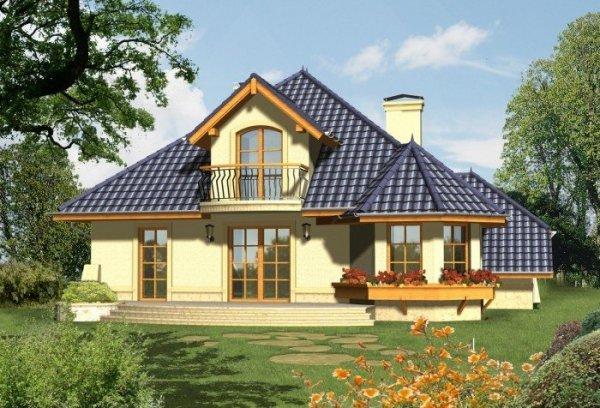 Projekt domu MUZA 2