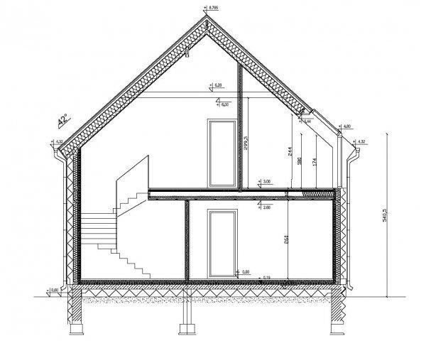 Projekt domu pasywnego LIGHT - Dom Leonarda
