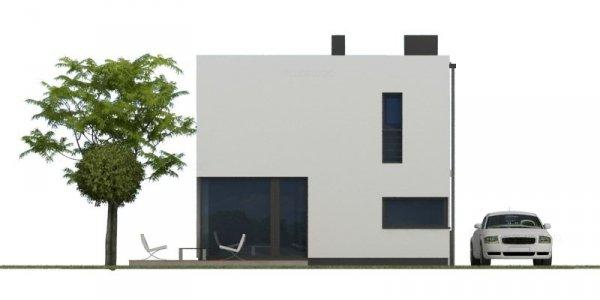 Projekt nowoczesnego domu energooszczędnego NF40-OO-40-20-V3 pow. 81,79 m2