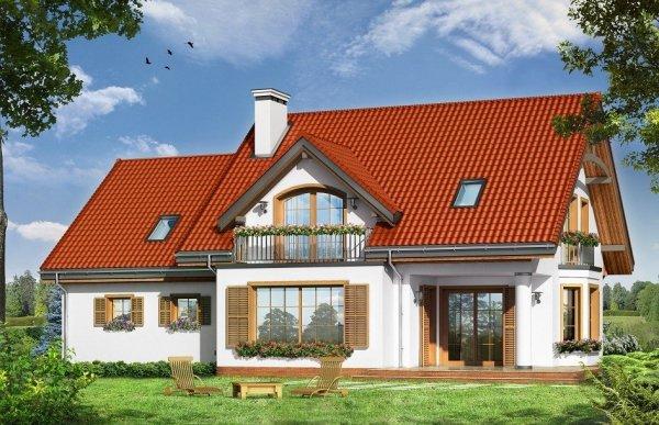 Projekt domu Julka III - LUSTRO pow.netto 149,02 m2