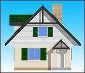 Projekt domu D0III pow.netto 83,79 m2