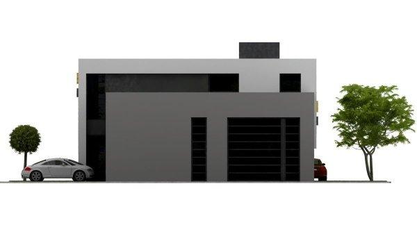 Projekt warsztatu samochodowego PS-SS-H1 pow. 260.00 m2